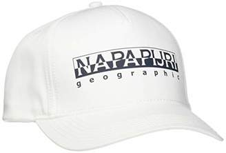 Napapijri Men's Framing Bright White Beret Not Applicable,(Manufacturer Size: D)