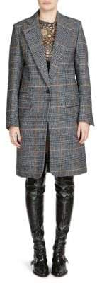 Chloé Princes Of Wales Check-Print Coat