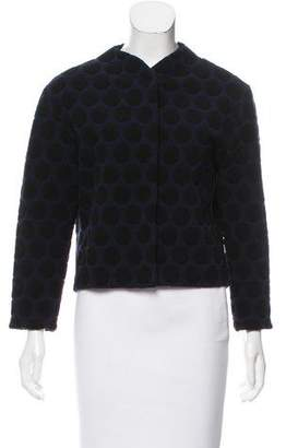 Marc Jacobs Pattern Knit Wool Jacket