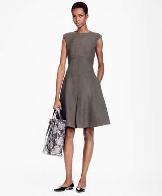 Brooks Brothers Sleeveless A-Line Dress
