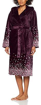 Dorothy Perkins Women's Confetti Heart Dressing Gown,6 (Size: X-Small)