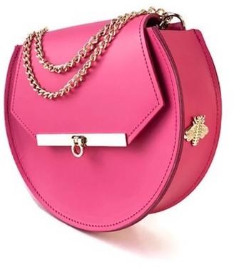 Angela Valentine Handbags Loel Mini Bee Crossbody Bag In Pink Punch