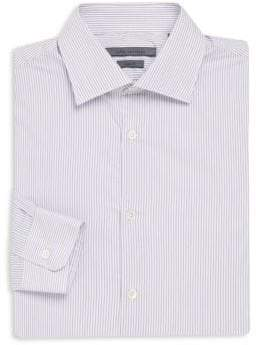 Slim-Fit Pinstripe Shirt
