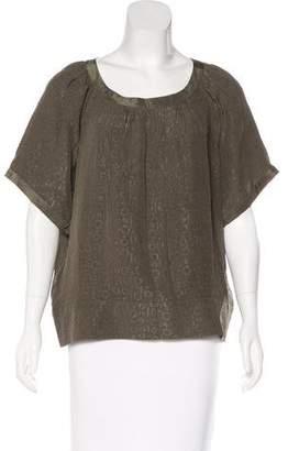 IRO Silk Oversize Blouse