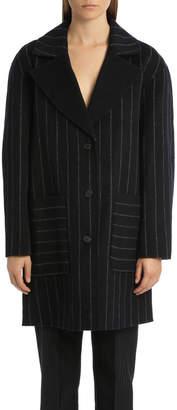 Diane von Furstenberg Bankek Stripe Coat