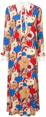 DAY Birger et Mikkelsen Vivetta pointed collar floral dress