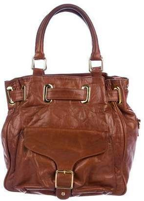 Rebecca Minkoff Grained Leather Satchel