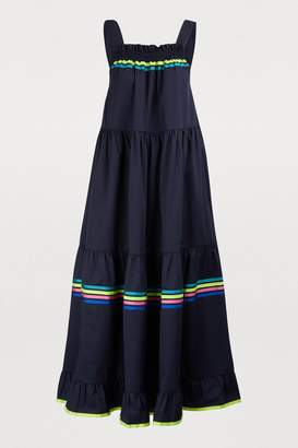 Mira Mikati Striped long dress