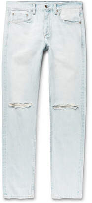 Rag & Bone Fit 2 Slim-Fit Distressed Denim Jeans