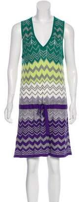 BCBGMAXAZRIA Patterned Knit Dress