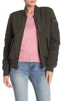 Andrew Marc Nicole Reversible Faux Shearling Bomber Jacket