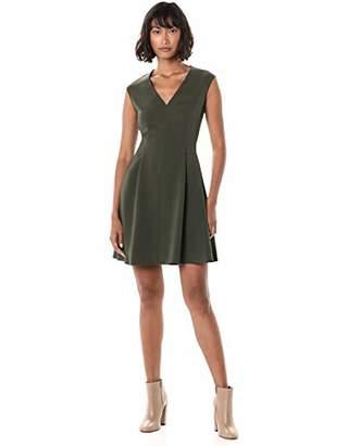 Theory Women's Pleated Cap Dress