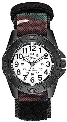 S'Oliver Boys' Analogue Quartz Watch with Nylon Strap SO-3504-LQ
