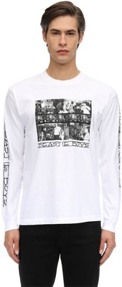758b843c7 Fact. X Beastie Boys Bb Photo L/s Printed Cotton T-shirt