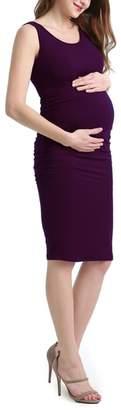 Kimi and Kai Delia Ruched Maternity Tank Dress