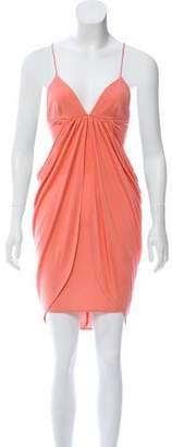 Mara Hoffman Draped Mini Dress