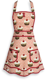 Bed Bath & Beyond Cupcakes Hostess Apron by Jessie Steele