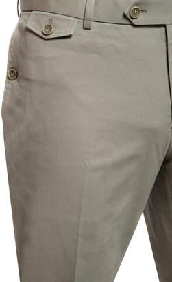 Joe's Jeans Men's Mid-Rise Flat Front Dress Pants, Khaki