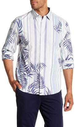 Tommy Bahama Frond With The Wind Trim Fit Shirt