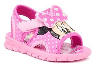 Disney Minnie Mouse Toddler Girls' Polka-Dot Sandals $29.99 thestylecure.com