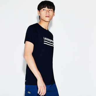 Lacoste Men's SPORT Oversized Crocodile Tennis T-Shirt