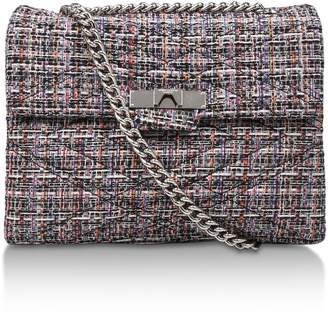 Kurt Geiger London Tweed Lg Mayfair X Bag