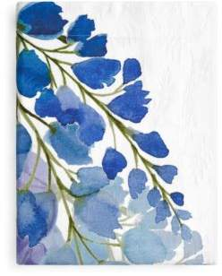 Anne de Solene Wisteria Flat Sheet, Queen