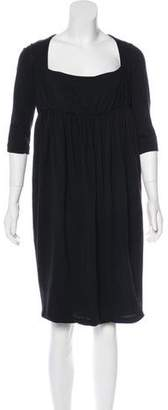 Martin Grant Square Neck Midi Dress