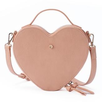 Lauren Conrad Love, Lauren Heart-Shaped Crossbody Bag