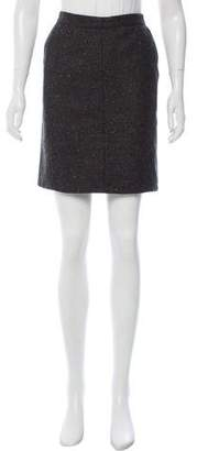 Alaia Tweed Mini Skirt