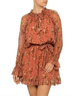 Zimmermann Espionage Frilled Playsuit