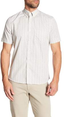 Kennington Pyramid Short Sleeve Slim Fit Shirt