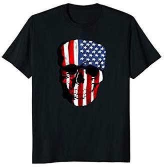 Skull American Flag Shirt