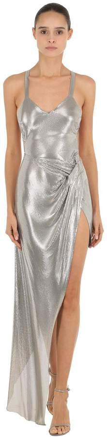 Stainless Steel Mesh Long Dress
