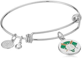 Halos & Glories Baseball Bangle Bracelet