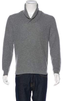 Saks Fifth Avenue Cashmere Rib Knit Sweater