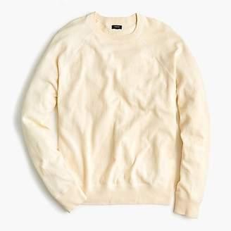 Crewneck cotton field sweater