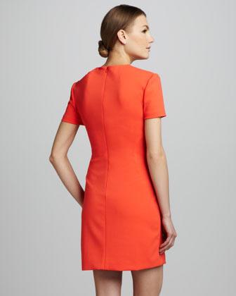 Diane von Furstenberg Yazmine Fitted Crepe Dress (Stylist Pick!)