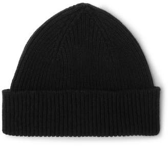 Paul Smith Ribbed Cashmere And Wool-Blend Beanie 714a7cb4e83a