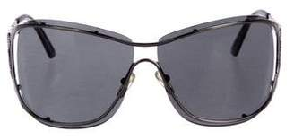 Saint Laurent Tinted Metal Sunglasses