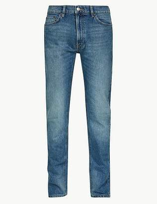 Marks and Spencer Vintage Wash Tapered Fit Jeans