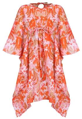 Mia Belle Girls Kaftan Floral Print Cover-Up (Toddler & Little Girls)
