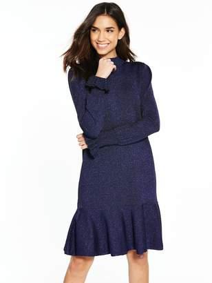 Mica Y.A.S Knit Dress - Navy