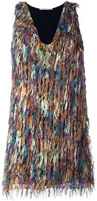 Marco De Vincenzo fringed mini dress