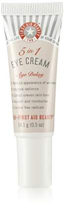 First Aid Beauty 5 in 1 Eye cream Age Delay 14.0g Slightly Scratched New&Unbox