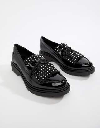 Aldo Nydiradda Leather Stud Chunky Loafers