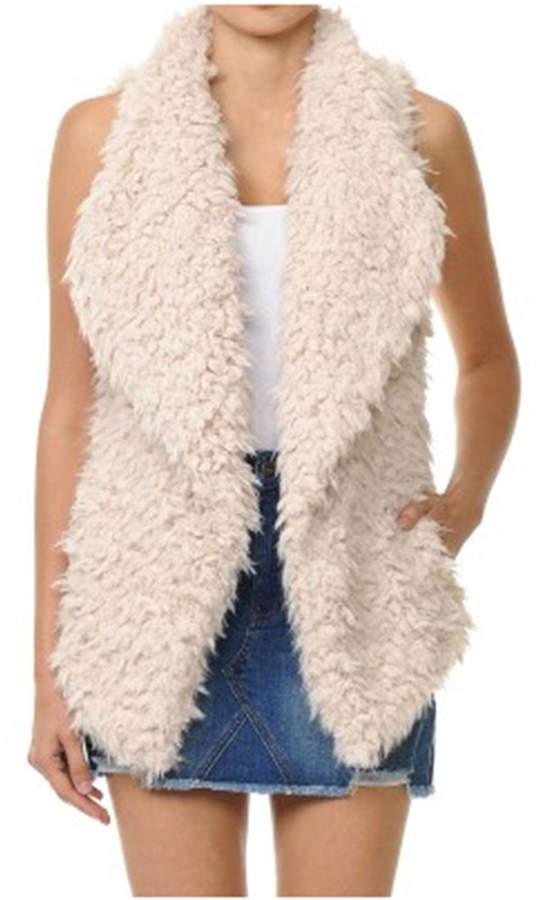 ambiance apparel Faux Fur Vest