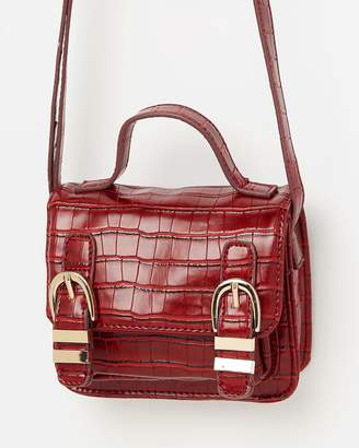 Missguided Mini Buckle Up Cross-Body Bag