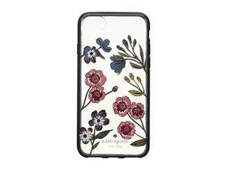 Kate Spade Jeweled Meadow Clear Phone Case for iPhone 8