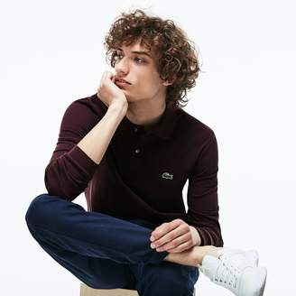 Lacoste Men's Long-sleeve L.12.12 Polo Shirt
